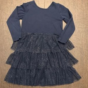 Sparkly Ruffle Tutu Dress